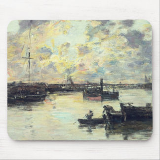 The Port, c.1895 (oil on panel) Mouse Pad