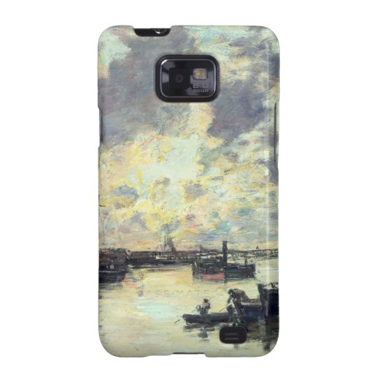 The Port, c.1895 (oil on panel) Samsung Galaxy SII Cover