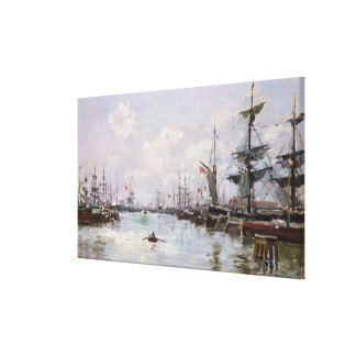 The Port Canvas Print