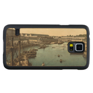 The Port Militaire II, Brest, France Carved® Maple Galaxy S5 Slim Case