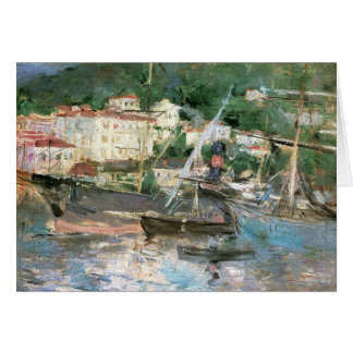 The Port, Nice by Morisot, Vintage Impressionism Cards