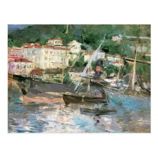 The Port, Nice by Morisot, Vintage Impressionism Post Card