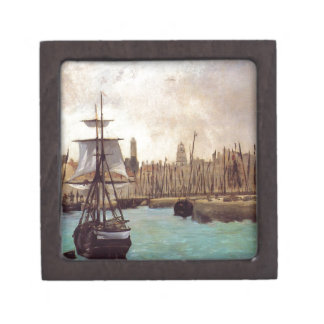The Port of Bordeaux by Edouard Manet Gift Box