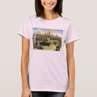 The Port of Bordeaux by Edouard Manet T-Shirt