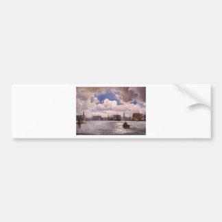 The Port of Copenhagen by Ioannis Altamouras Bumper Sticker