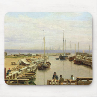 The Port of Dragor, 1826 Mouse Pad