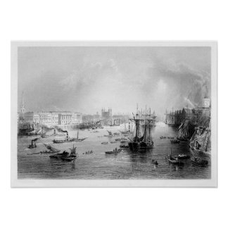 The Port of London 1840 Posters