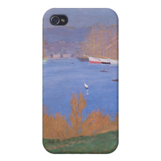 The Port of Marseille, 1901 iPhone 4/4S Cases