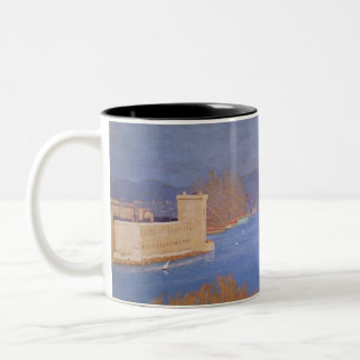 The Port of Marseille, 1901 Two-Tone Coffee Mug