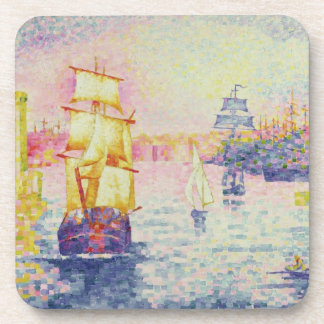 The Port of Marseilles, c.1909 (oil on canvas) Beverage Coasters