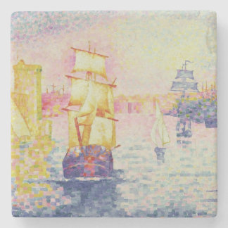 The Port of Marseilles, c.1909 (oil on canvas) Stone Coaster