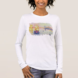 The Port of Marseilles, c.1909 (oil on canvas) Long Sleeve T-Shirt
