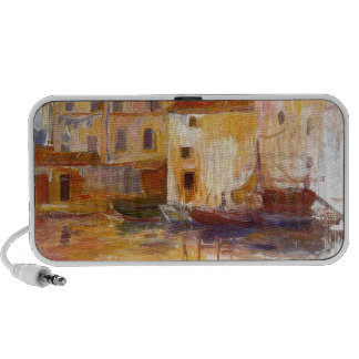 The Port of Martigues by Pierre-Auguste Renoir Speaker System