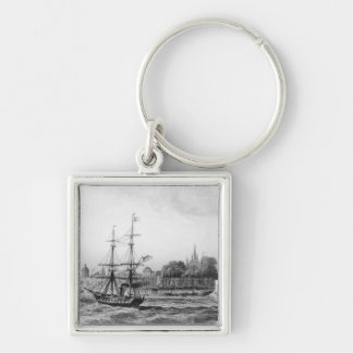 The Port of New Orleans Keychain