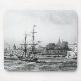 The Port of New Orleans Mouse Pad