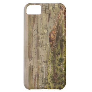 The Port of New York Bird's Eye View in 1872 iPhone 5C Case