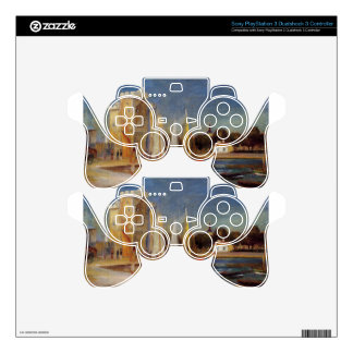 The Port of Rochelle by Pierre-Auguste Renoir PS3 Controller Skins