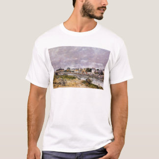 The Port of Trouville by Eugene Boudin T-Shirt