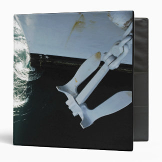 The port side Mark II Stockless Anchor Binder