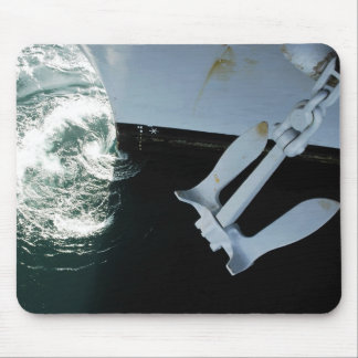 The port side Mark II Stockless Anchor Mouse Pad