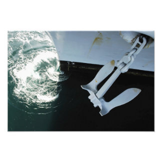 The port side Mark II Stockless Anchor Photo Print