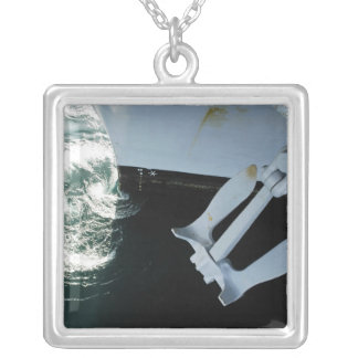 The port side Mark II Stockless Anchor Silver Plated Necklace