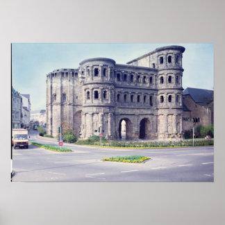 The Porta Nigra, 4th century Poster