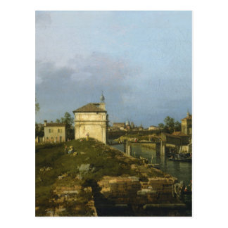 The Porta Portello, Padua By Canaletto Post Cards
