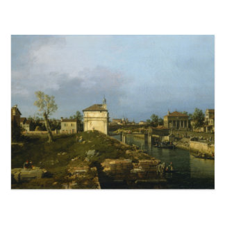 The Porta Portello, Padua By Canaletto Postcard