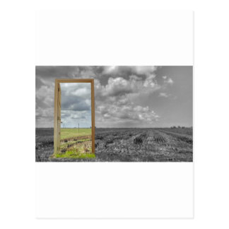 The portal for the crop circle artist. postcard