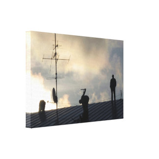 The Portal / Portaali Canvas Print