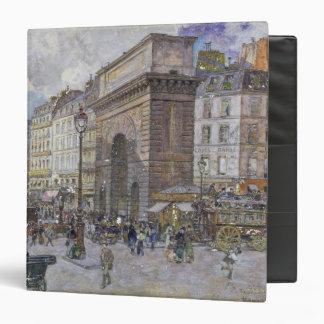 The Porte Saint-Martin, 1898 Binder