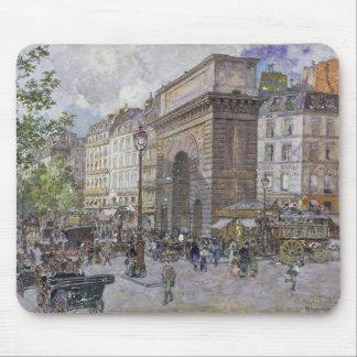 The Porte Saint-Martin, 1898 Mouse Pad