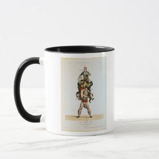 The Porter or, The Imposing Burden, c.1820 Mug