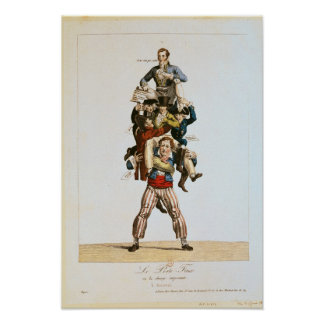 The Porter or, The Imposing Burden, c.1820 Poster