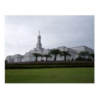 The Porto Alegre Brazil LDS Temple Postcard