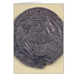 The portrait al-Mutawakkil  Caliph Card