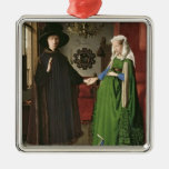 The Portrait of Giovanni Arnolfini Christmas Tree Ornaments
