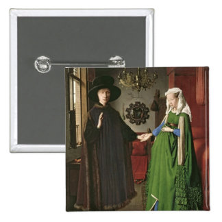 The Portrait of Giovanni Arnolfini Pinback Button