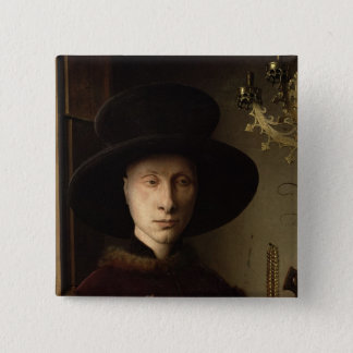 The Portrait of Giovanni  Arnolfini Pinback Button