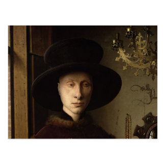 The Portrait of Giovanni  Arnolfini Postcard