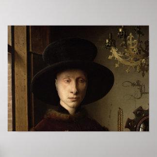 The Portrait of Giovanni  Arnolfini Poster