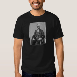 The Portrait of Lincoln wearing baseball cap T-Shirt
