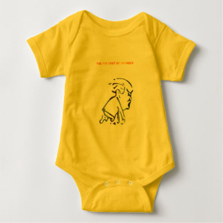 The Portrait of Madness Baby Bodysuit