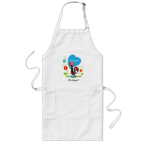 The Portuguese Rooster of Luck Aprons