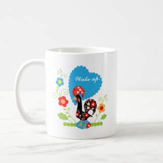 The Portuguese Rooster of Luck Coffee Mug