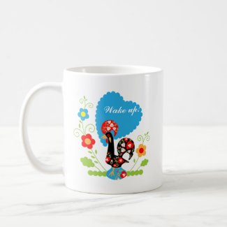 The Portuguese Rooster of Luck mug