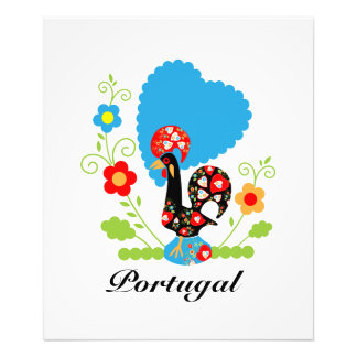 The Portuguese Rooster of Luck Photo Print