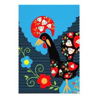 The Portuguese Rooster Photographic Print