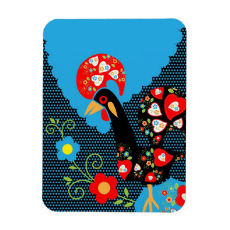 The Portuguese Rooster Vinyl Magnet